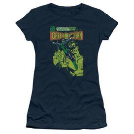 Green Lantern Vintage Cover Short Sleeve Junior Sheer T-Shirt