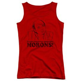Princess Bride Morons Juniors Tank Top