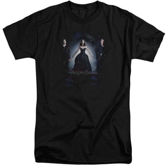 Vampire Diaries Bring It On Short Sleeve Adult Tall T-Shirt