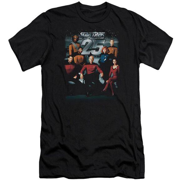 Star Trek 25 Th Anniversary Crew Premuim Canvas Adult Slim Fit