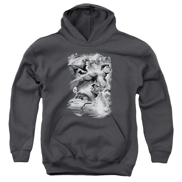 Jla Atmospheric Youth Pull Over Hoodie