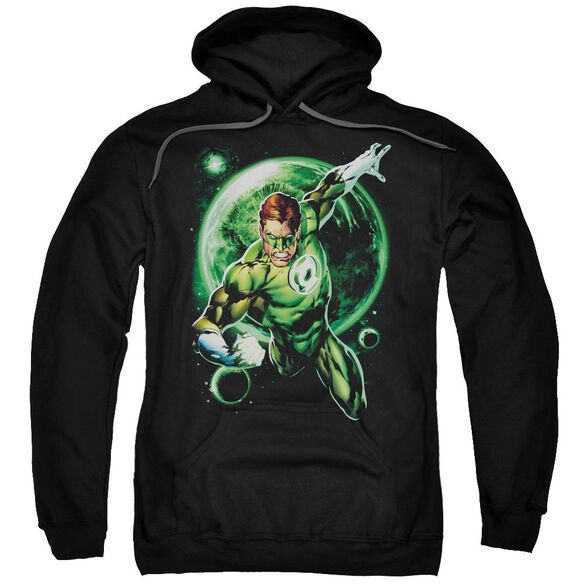 Green Lantern Galaxy Glow Adult Pull Over Hoodie