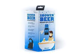 Shower Beer Holder & Bluetooth Speaker