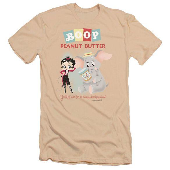 Betty Boop Boop Peanut Butter Premuim Canvas Adult Slim Fit