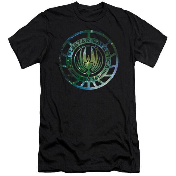 Battlestar Galactica (New) Galaxy Emblem Short Sleeve Adult T-Shirt