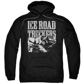 Ice Road Truckers Break The Ice Adult Pull Over Hoodie