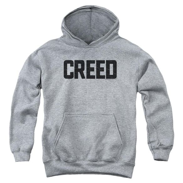 Creed Cracked Logo Youth Pull Over Hoodie Athletic