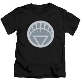 GREEN LANTERN WHITE SYMBOL - S/S JUVENILE 18/1 - BLACK - T-Shirt