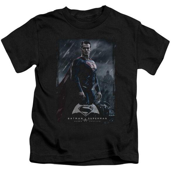Batman V Superman Supe Poster Short Sleeve Juvenile T-Shirt