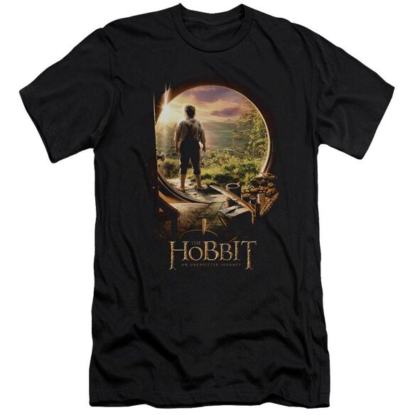 The Hobbit Hobbit In Door Short Sleeve Adult T-Shirt
