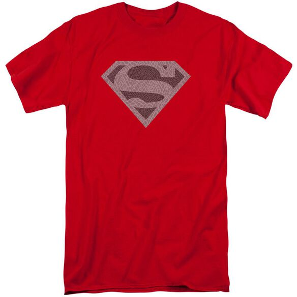 Superman Elephant Shield Short Sleeve Adult Tall T-Shirt