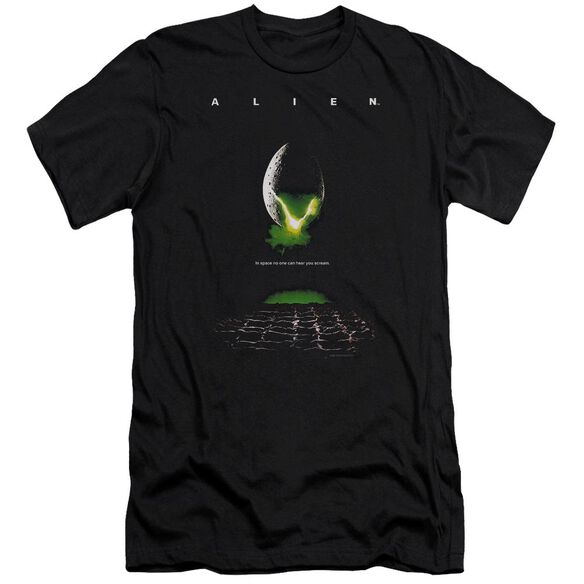 Alien Poster Premuim Canvas Adult Slim Fit