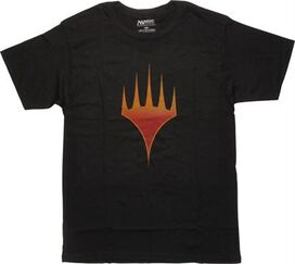 Magic The Gathering Planeswalker Symbol T-Shirt
