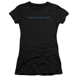 Terminator Circuit Board Logo Short Sleeve Junior Sheer T-Shirt