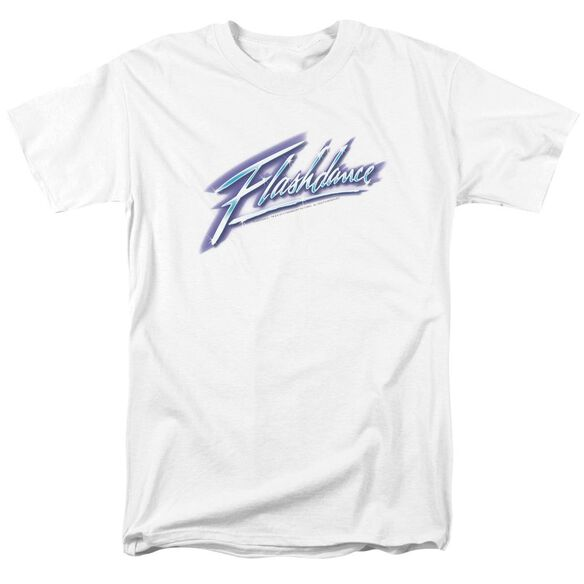 Flashdance Logo Short Sleeve Adult T-Shirt