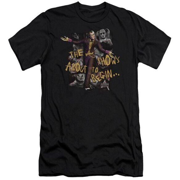 ARKHAM CITY ABOUT TO BEGIN - S/S ADULT 30/1 - BLACK T-Shirt
