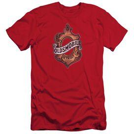 Oldsmobile Detroit Emblem Short Sleeve Adult T-Shirt