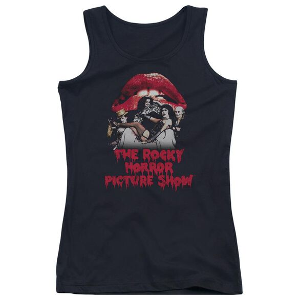 Rocky Horror Picture Show Casting Throne Juniors Tank Top