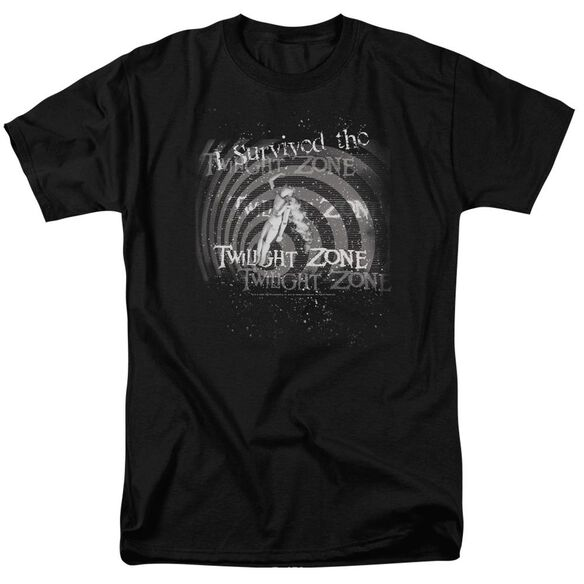 Twilight Zone I Survived Short Sleeve Adult T-Shirt