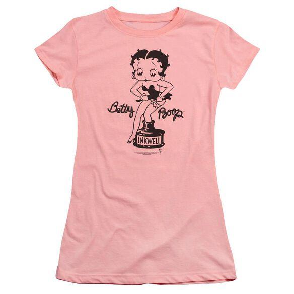 Betty Boop Inkwell Premium Bella Junior Sheer Jersey