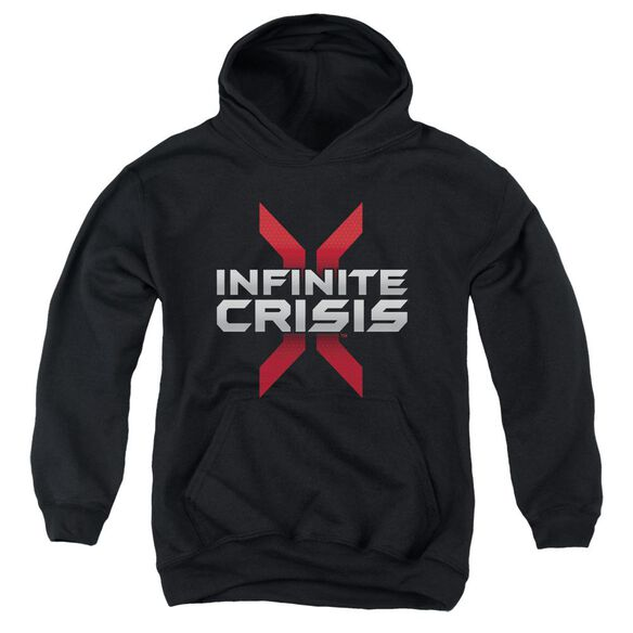 Infinite Crisis Logo Youth Pull Over Hoodie