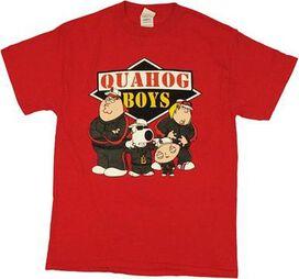 Family Guy Quahog Boys T-Shirt