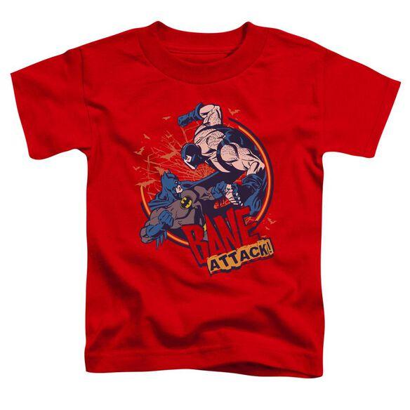 Batman Bane Attack! Short Sleeve Toddler Tee Red Lg T-Shirt