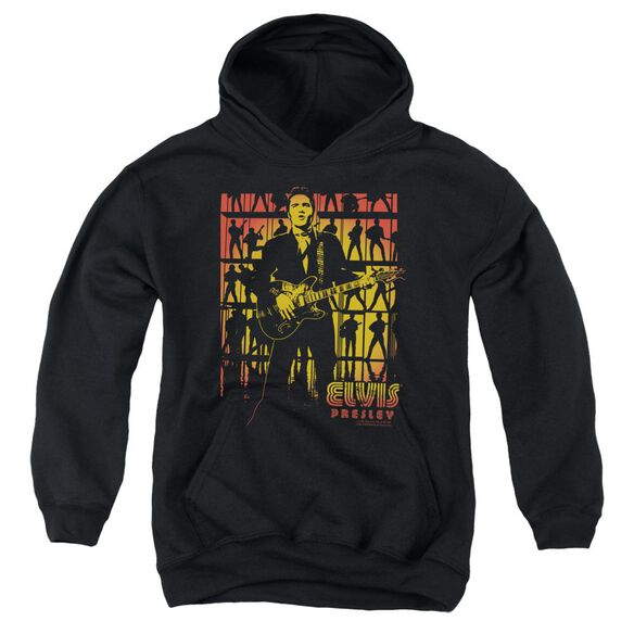 Elvis Comeback Spotlight Youth Pull Over Hoodie