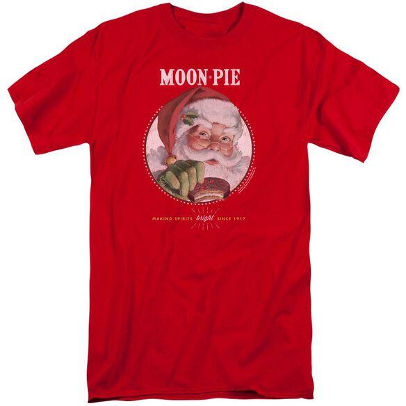 Moon Pie Snacks For Santa Short Sleeve Adult Tall T-Shirt