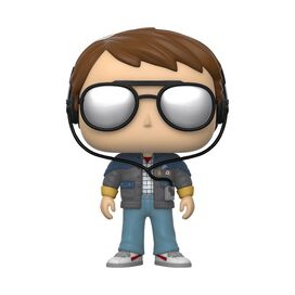 Funko Pop!: Back to the Future - Marty [w/ Glasses]