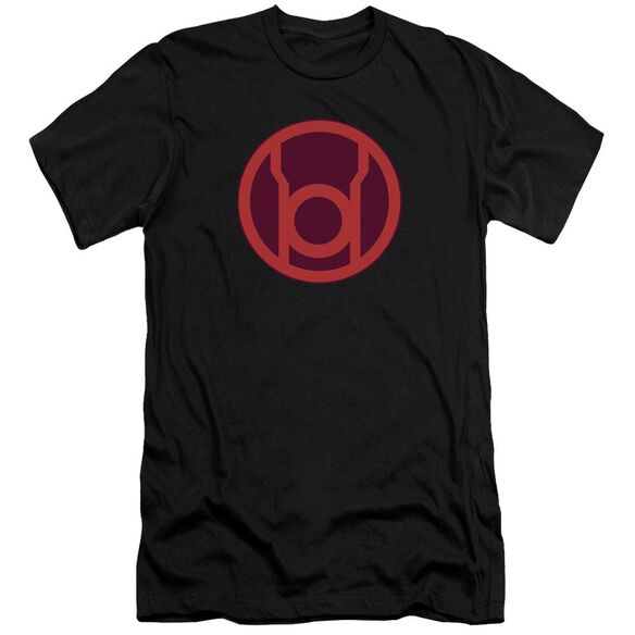Green Lantern Red Symbol Short Sleeve Adult T-Shirt