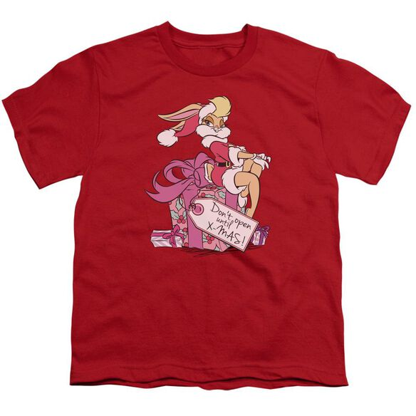 Looney Tunes Lola Present Short Sleeve Youth T-Shirt