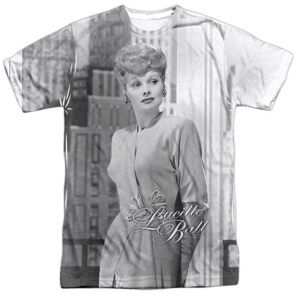 Lucille Ball City Girl Short Sleeve Adult Poly Crew T-Shirt