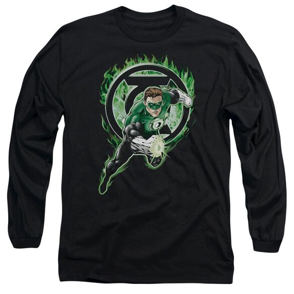 Green Lantern Space Cop Long Sleeve Adult T-Shirt