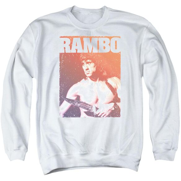 Rambo Iii Creep Adult Crewneck Sweatshirt