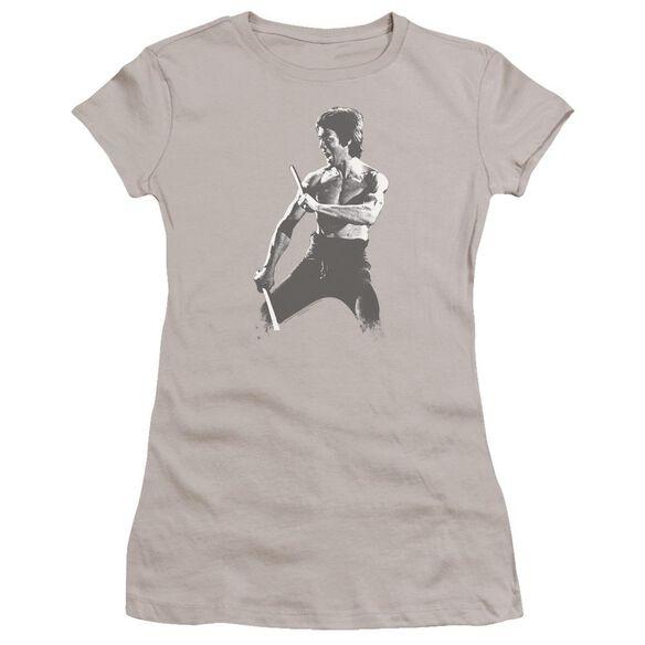 Bruce Lee Chinese Characters Premium Bella Junior Sheer Jersey