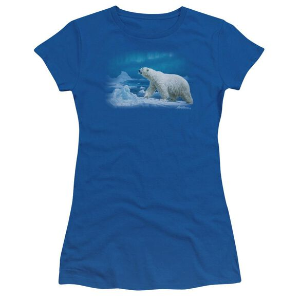 Wildlife Nomad Of The North Short Sleeve Junior Sheer Royal T-Shirt