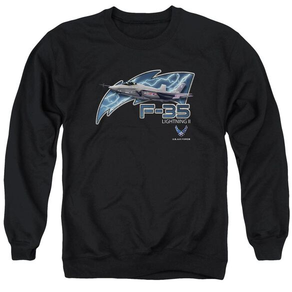 Air Force F35 Adult Crewneck Sweatshirt