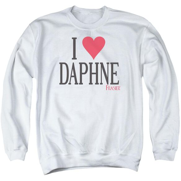 Frasier I Heart Daphne Adult Crewneck Sweatshirt