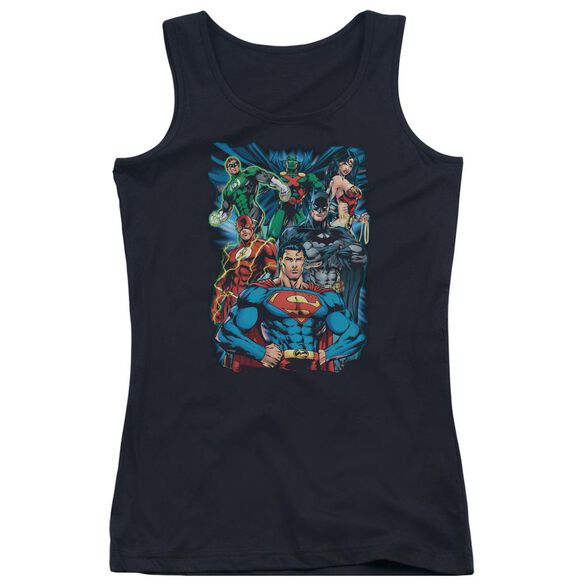 Jla Justice Is Served Juniors Tank Top