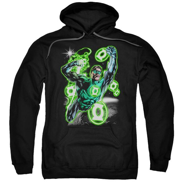 Green Lantern Earth Sector Adult Pull Over Hoodie
