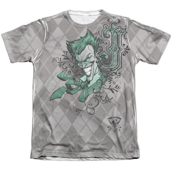 Batman Jokergyle Adult 65 35 Poly Cotton Short Sleeve Tee T-Shirt
