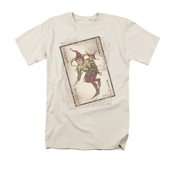 Dark Knight Joker Card Short Sleeve Adult T-Shirt