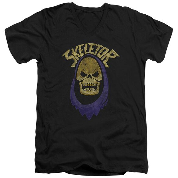 Masters Of The Universe Hood Short Sleeve Adult V Neck T-Shirt