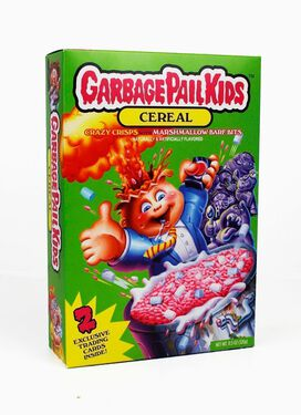 Garbage Pail Kids Barf Bits Cereal [Includes 2 Collectible Trading Cards]