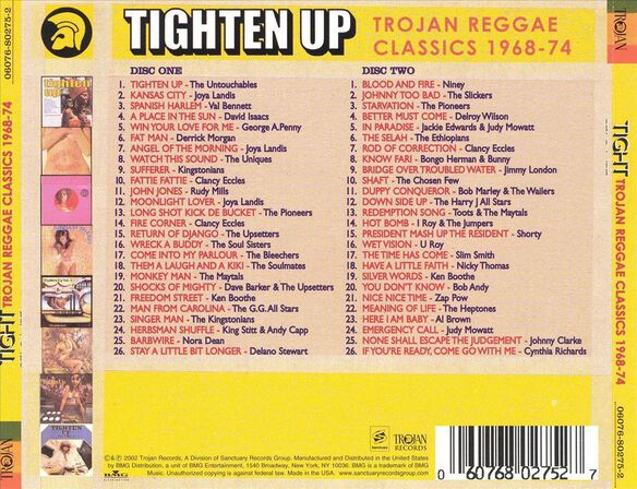 Tighten Up Trojan Reggae