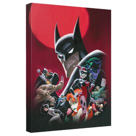 Batman Animated Poster Quickpro Artwrap Back Board