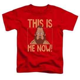Bobs Burgers This Is Me Short Sleeve Toddler Tee Red T-Shirt