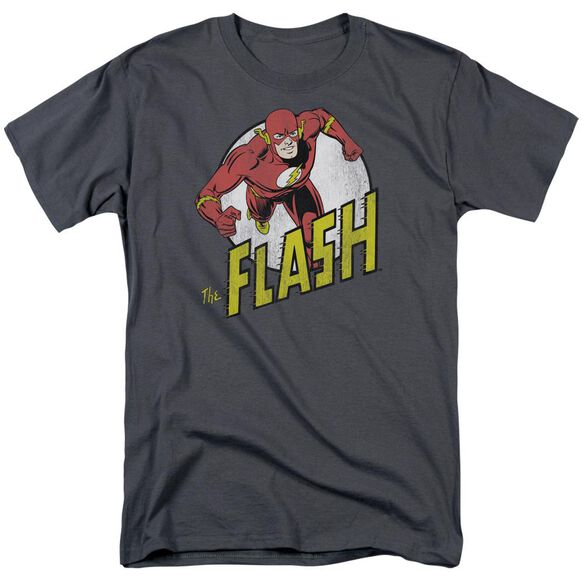 Dc Flash Run Flash Run Short Sleeve Adult T-Shirt