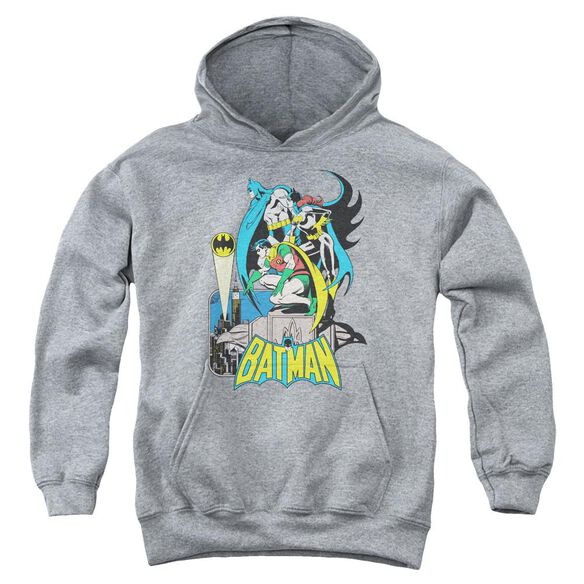 Dc Heroic Trio Youth Pull Over Hoodie